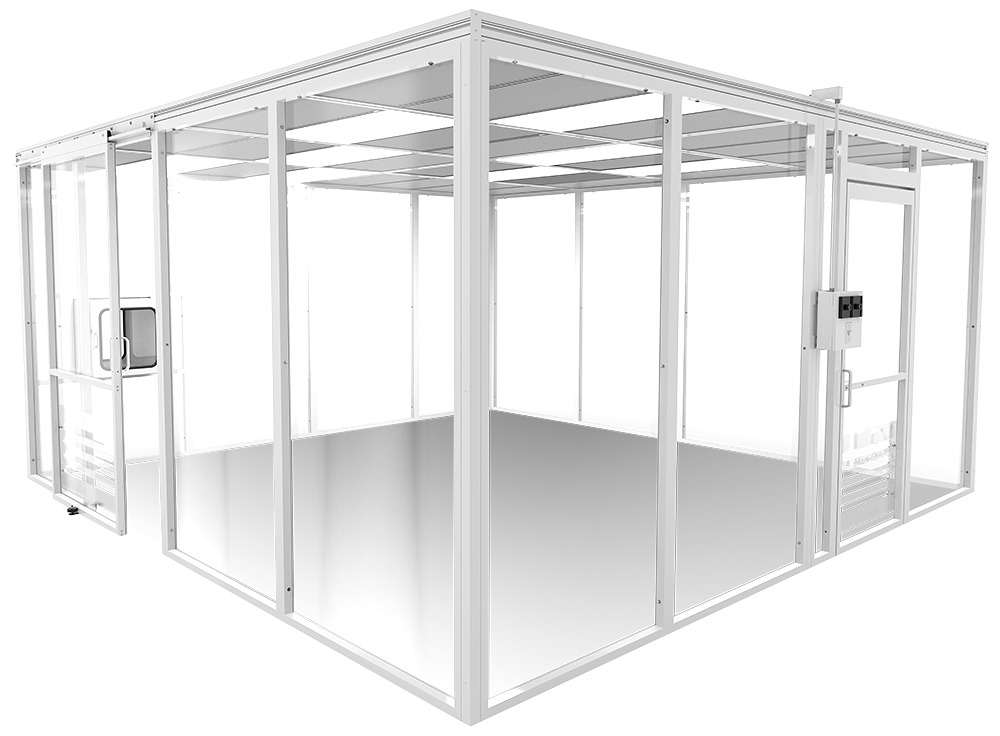 Rigidwall Cleanrooms   Free-standing Modular Cleanrooms